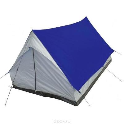 """Палатка Columbus """"Alaska"""", однослойная, цвет: синий, серый"""
