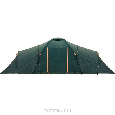 "Палатка Husky ""Boston 8"", цвет: темно-зеленый"